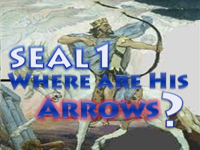First Seal,1st Seal,White Horse,Bow,Crown,Conquering,Jesus,Seven Seals,Book of Revelation,Revelation Chapter 6,Apocalypse,four Horsemen,4 Horsemen
