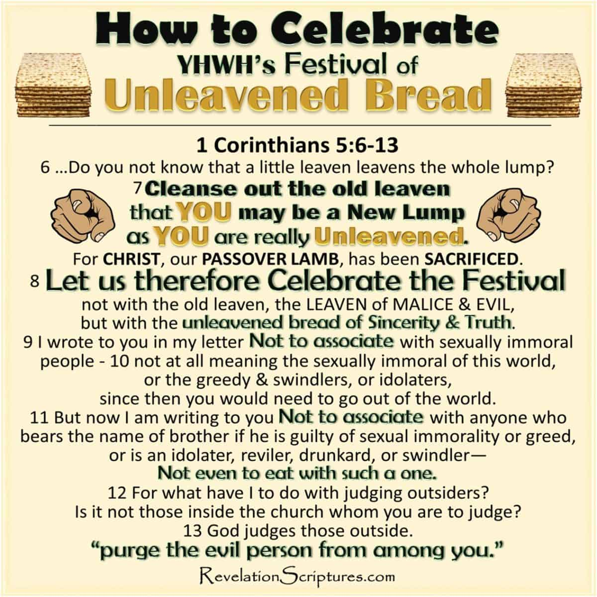 Feast of Unleavened Bread,Shavuot,Unleavened Bread in Revelation,Shavuot in Revelation,Book of Revelation,Festival of Weeks,Unleavened Bread,Bread of Affliction,144000,Great Multitude,New Lump,malice,wickedness,sincerity,truth,Leaven,sin,hypocrisy,hypocrite,fulfillment in Revelation